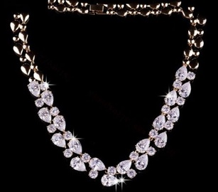 Vincento Necklace With Stellux Crystal PC-1130