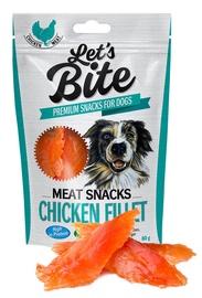 Brit Care Let's Bite Meat Snacks Chicken Fillet 80g