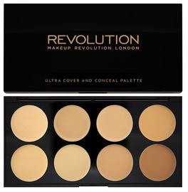 Makeup Revolution London Ultra Cover & Conceal Palette 10g Light Medium