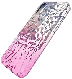 Mocco Trendy Diamonds Back Case For Samsung Galaxy J6 Plus Pink