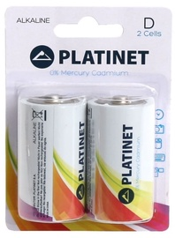 Platinet LR20 Alkine Batteries 2pcs