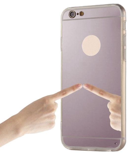 Blun Mirror Back Case For Samsung Galaxy S8 Plus Pink