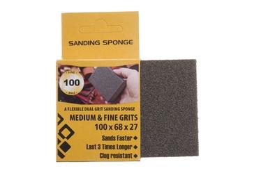Šlifavimo kempinė Forte Tools, NR100, 100x68x27 mm, 1 vnt.