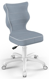Entelo Childrens Chair Petit Size 3 White/Blue JS06