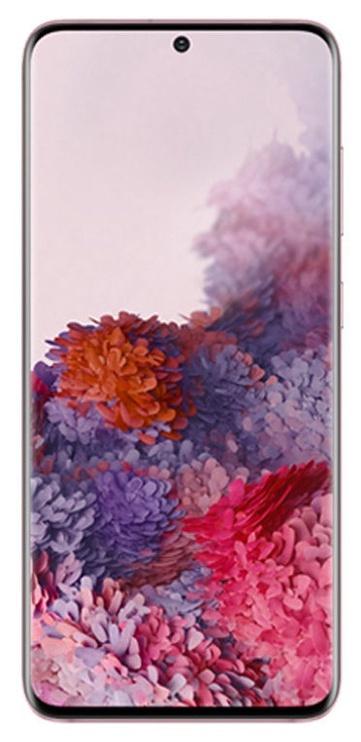 Mobilusis telefonas Samsung Galaxy S20 SM-G980 Cloud Pink, 128 GB