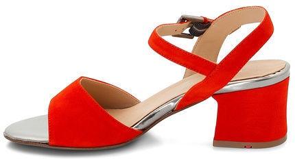 Lloyd Sandals 19-636-03 Scarlet Red Gunmetal 42