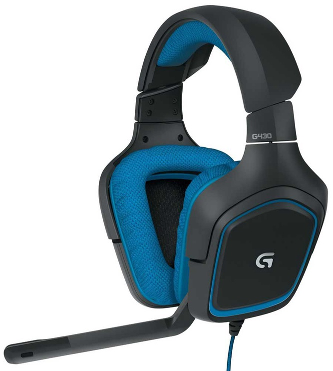 Ausinės Logitech G430 Stereo Gaming Headset
