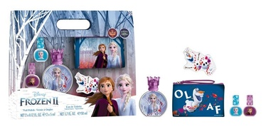 Disney Frozen II 50ml EDT + 2 x 5ml + Cosmetic Bag + Nail File