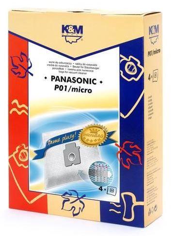 Мешок для пыли K&M P01 Micro, 4 шт.
