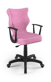 Детский стул Entelo Norm VS08, черный/розовый, 400x370x1010 мм