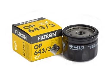 Automobilių tepalo filtras Filtron OP586/OP643/3