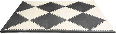 SkipHop Playspot Geo Foam Floor Tiles Black/Cream