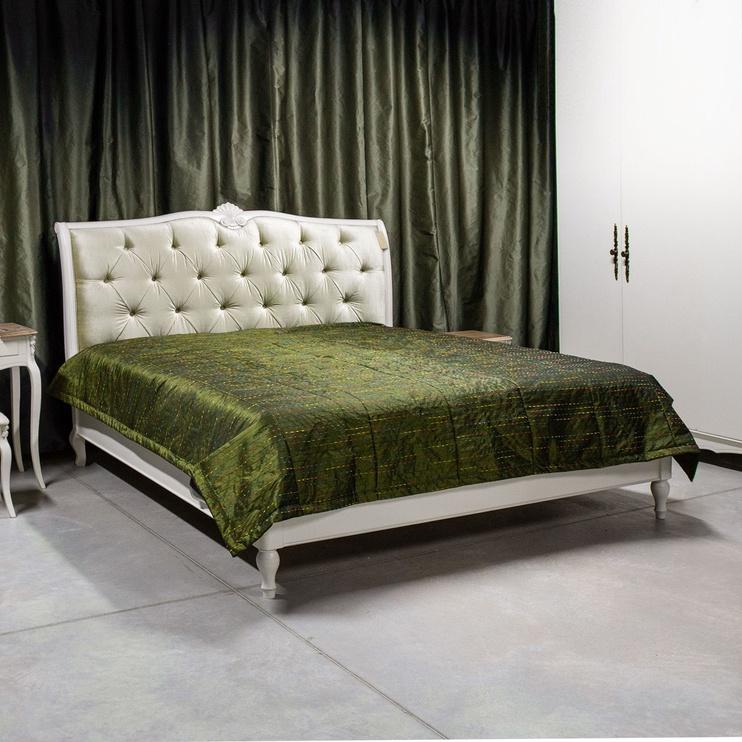Voodikate Home4you Indigo Green, 240x240 cm