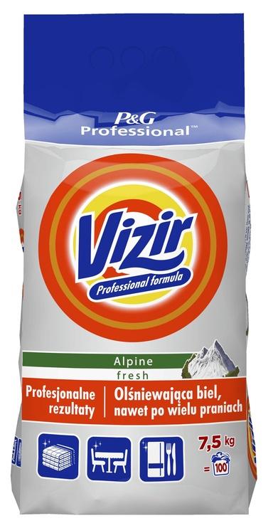 Skalbimo milteliai Vizir Professional Regular Alpine Fresh, 7.5 kg