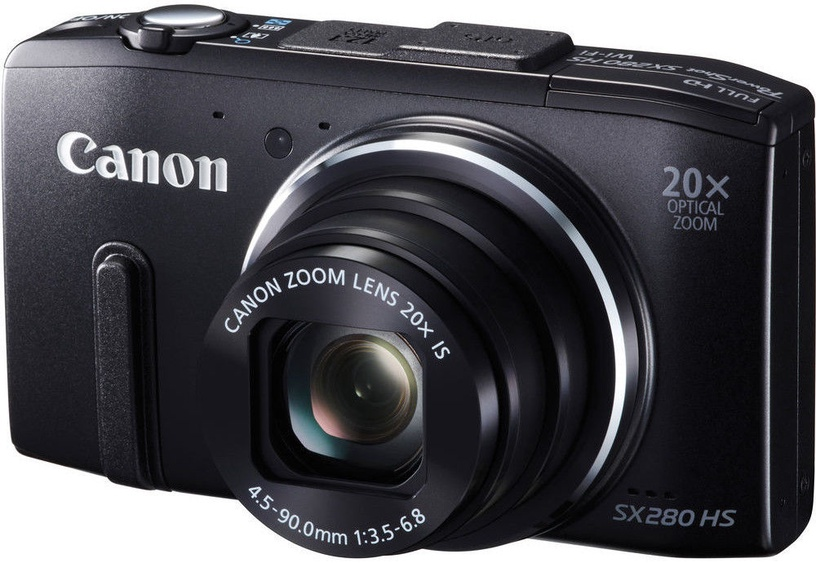 Canon PowerShot SX280 HS Digital Camera Black