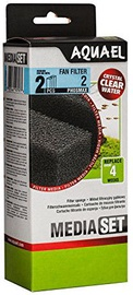 Aquael Filter Foam Sponge Fan 2 Plus 2pcs