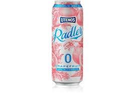 Alus Utenos Radler Grapefruit, nealkoholinis, 0,5 l