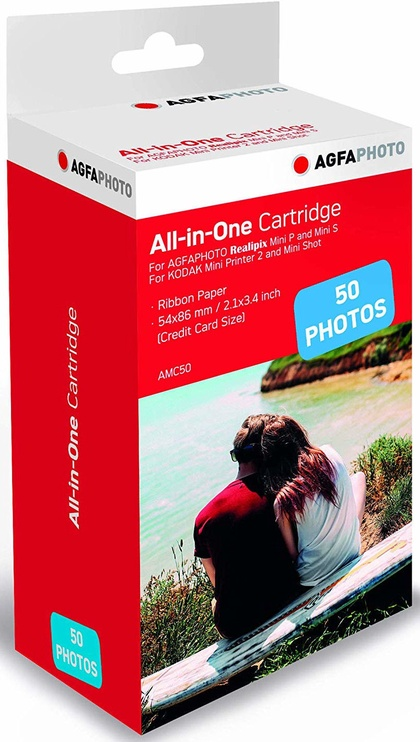 AgfaPhoto All in One Cartridge 50 Photos AMC50