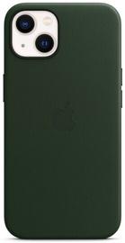 Чехол Apple iPhone 13 Leather Case with MagSafe, зеленый
