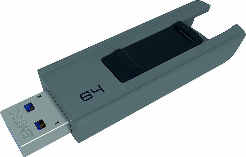 Emtec Slide B250 64GB USB 3.0 Grey