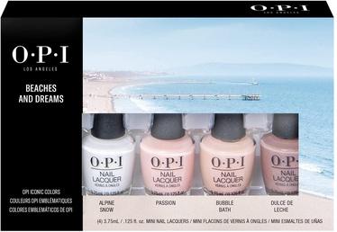 Küünelakk OPI Beaches & Dreams, 15 ml, 4 tk