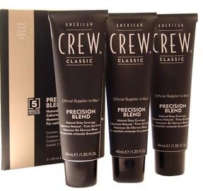 American Crew Precision Blend Hair Dyes 3x40ml 7-8Light