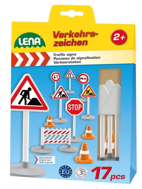 Lena Truxx Traffic Signs Set 04440