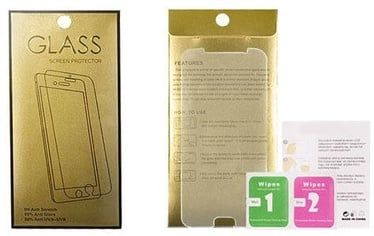 Gold Tempered Glass Screen Protector For Huawei P Smart 2021
