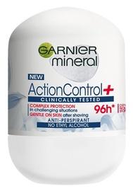 Дезодорант для женщин Garnier Mineral Action Control+ 96h Anti Perspirant Roll On, 50 мл