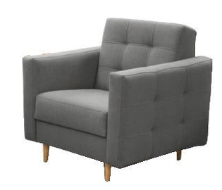 Fotelis Idzczak Meble Godivo Grey, 88x95x89 cm