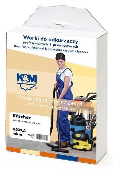 K&M Group Vacuum Cleaner Bags 4 + Microfilter