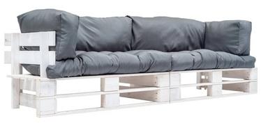 Комплект уличной мебели VLX Garden Sofa 277385, белый/синий, 2 места