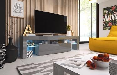 TV galds Cama Meble Toro 158, pelēka, 1580x400x410 mm