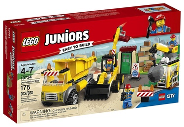 Konstruktors LEGO Juniors Demolition Site 10734