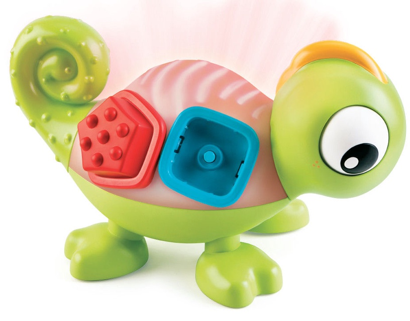Interaktyvus žaislas Bkids Sort & Glow Chameleon, EN