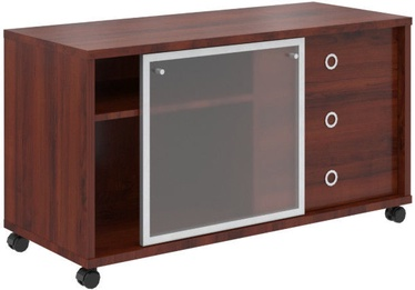 Skyland Born V 202.2 Office Cabinet Burgundy