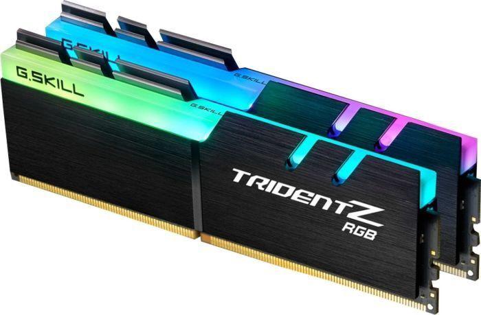 Operatīvā atmiņa (RAM) G.SKILL Trident Z RGB Black F4-3600C16D-16GTZRC DDR4 16 GB