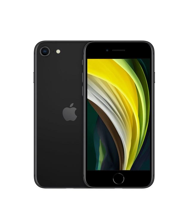 Mobilusis telefonas Apple iPhone SE 2020, antracito, 3GB/64GB
