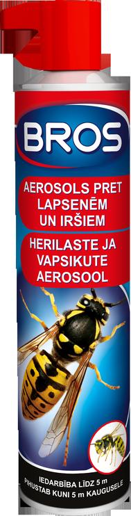Aerozolis širšėms ir vapsvoms atbaidyti Bros, 0.3 l