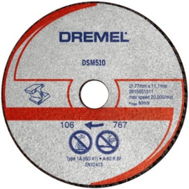 Dremel DSM10 Metal Cutting Disc 77mm