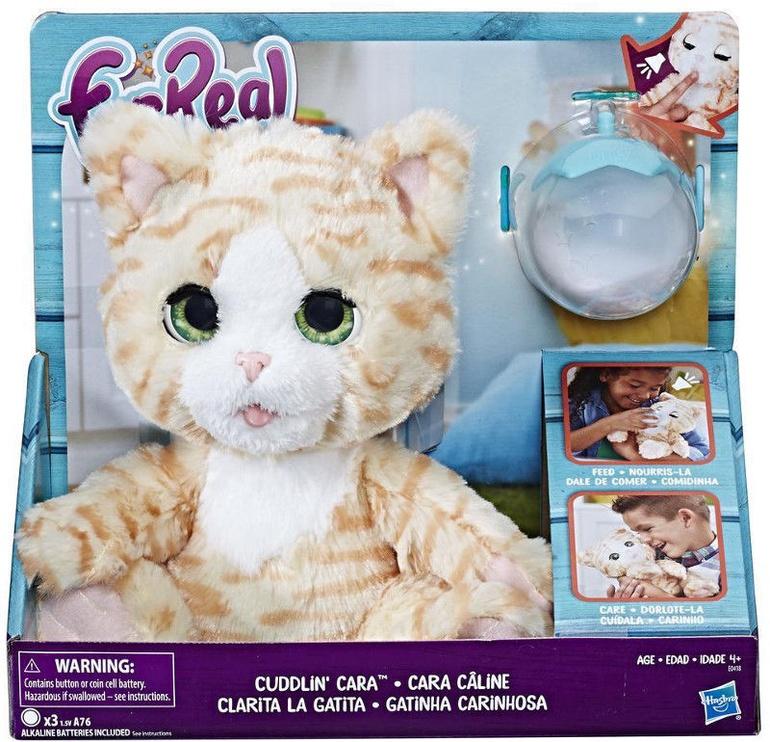 Hasbro FurReal Cuddlin Cleo E0418