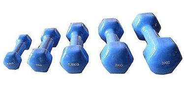 Viniliniai svarmenys YLDB04, 2 x 0.5 kg