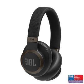 Ausinės JBL JBLLIVE650BTNCBL Black, belaidės