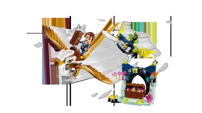 Конструктор LEGO Elves Emily Jones & The Eagle Getaway 41190 41190, 149 шт.