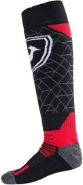 Rossignol Ski Socks L3 Premium Wool Red/Black L