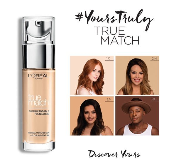 L´Oreal Paris True Match Super Blendable Foundation 30ml D7/W7