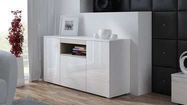 Cama Meble Viva 150 Chest Of Drawers White/White Gloss