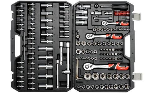 Yato YT-38931 Tool Set 1/4'' 1/2'' 3/8'' 173pcs