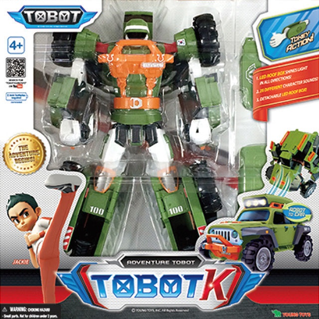 Young Toys Tobot K