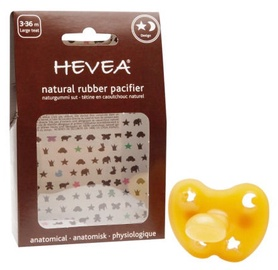 Hevea Star & Moon Anatomical Pacifier 3-36m L